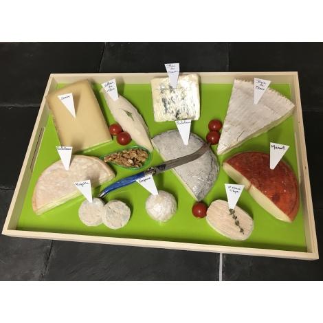 plateau fromages de 11 personnes les terroirs de france. Black Bedroom Furniture Sets. Home Design Ideas